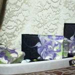 citrus sage mantra marble soap