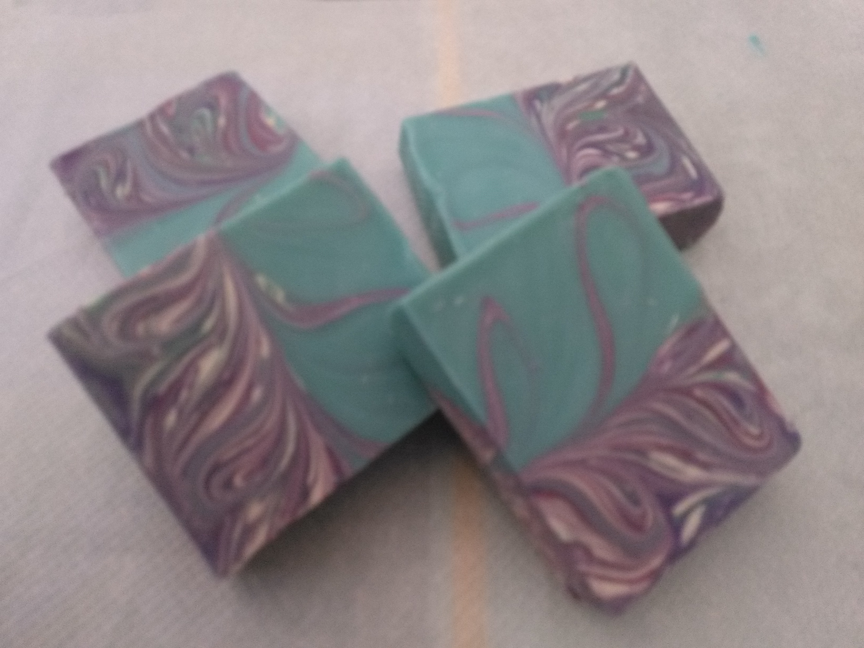 linear mantra marble soap