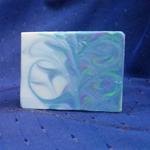 lime spearmint mantra marble soap