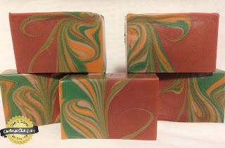 mayan gold mantra marbles soap