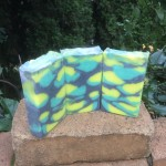 lemon verbena tall skinny shimmy soap