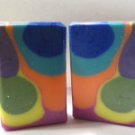 super psychedelic skinny shimmy soap