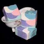 pastel shimmy soap