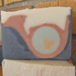 sculpted french horn soap