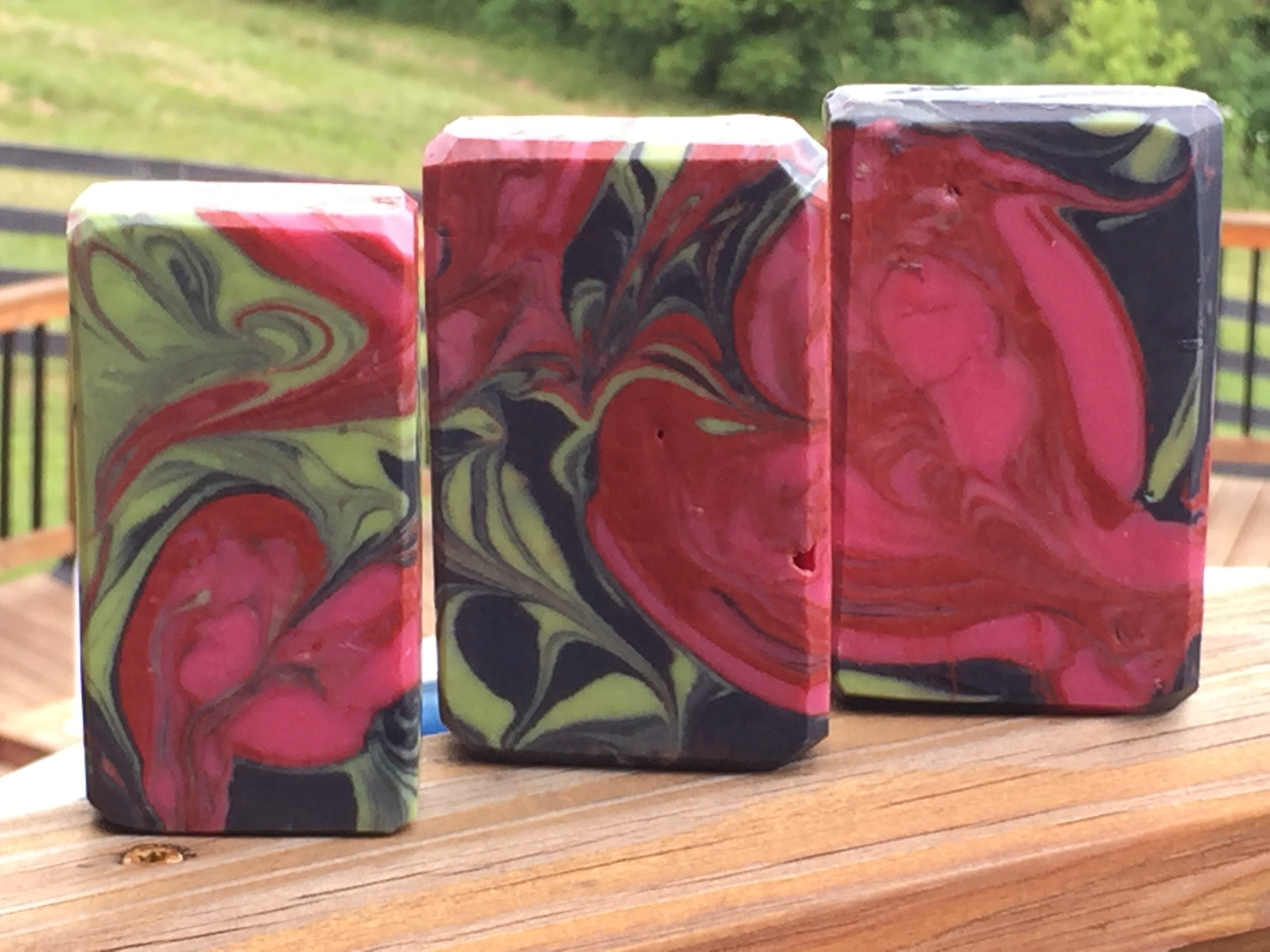 hearts pipe divider swirl challenge by biker babe soaps