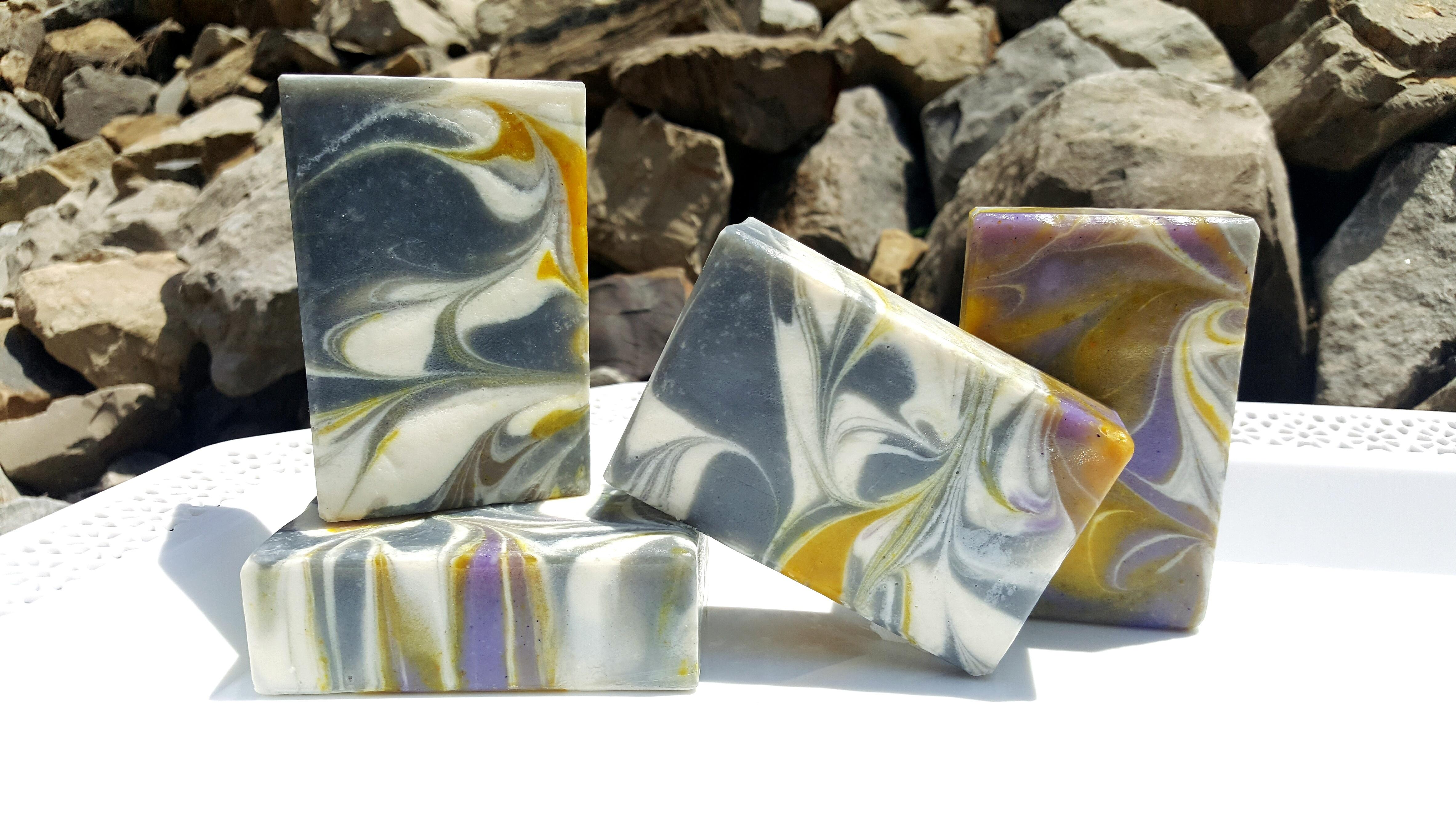 lavender pipe swirl