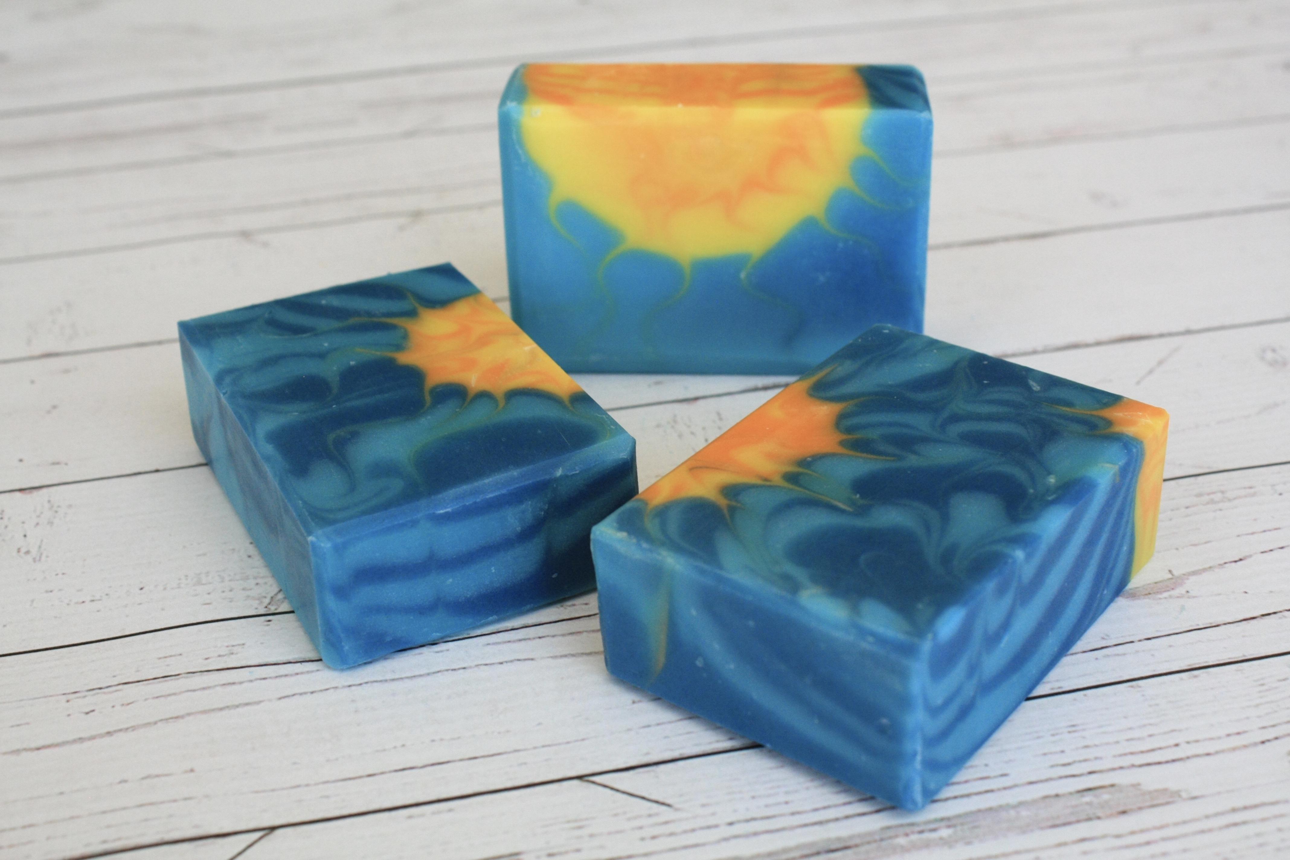 dazzling sunrays soap