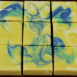 brazilian flag butterfly soap