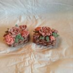 rice flower and shea flower basket weave soap