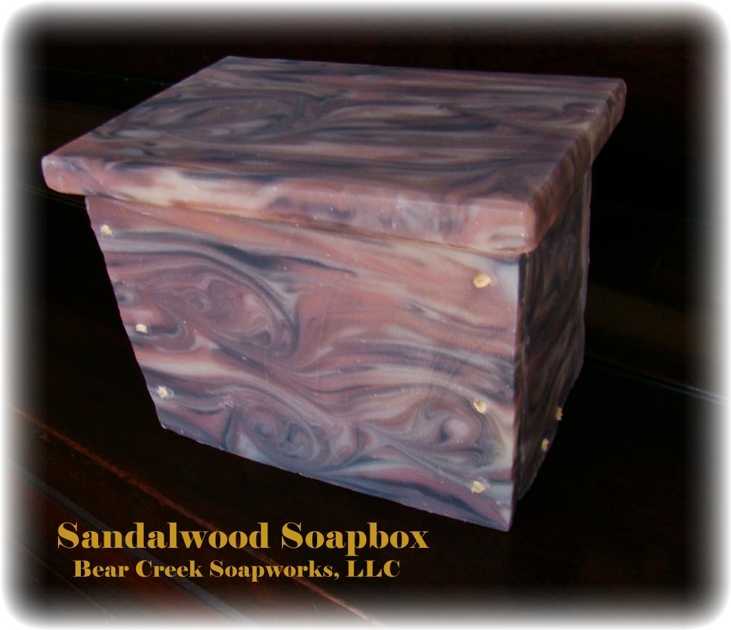 sandalwood soapbox