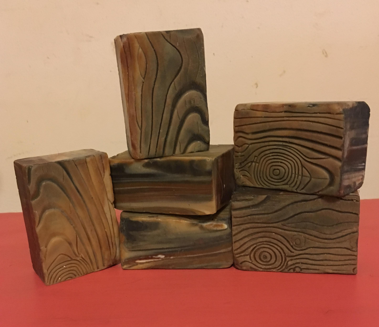 wood grain soap challenge