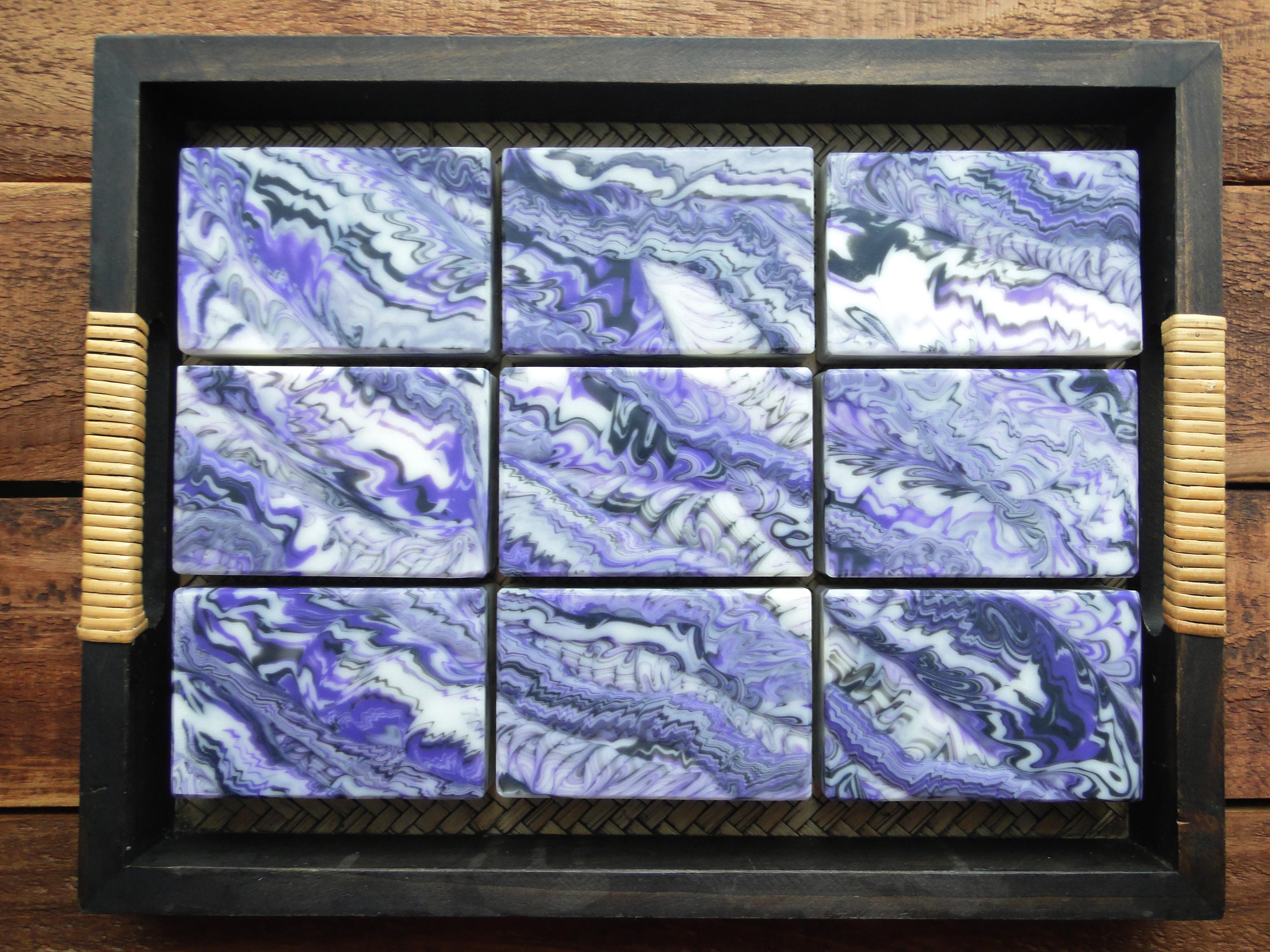lavender cedar cosmic wave soap