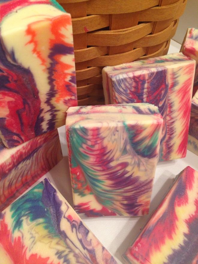 tie dye cosmic wave