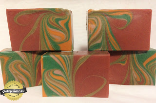 mayan gold mantra marbles soap