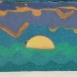 ocean sunrise soap