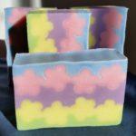 springtime sculpted layers soap