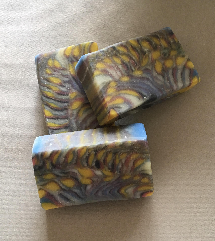 psychedelic tiger strip