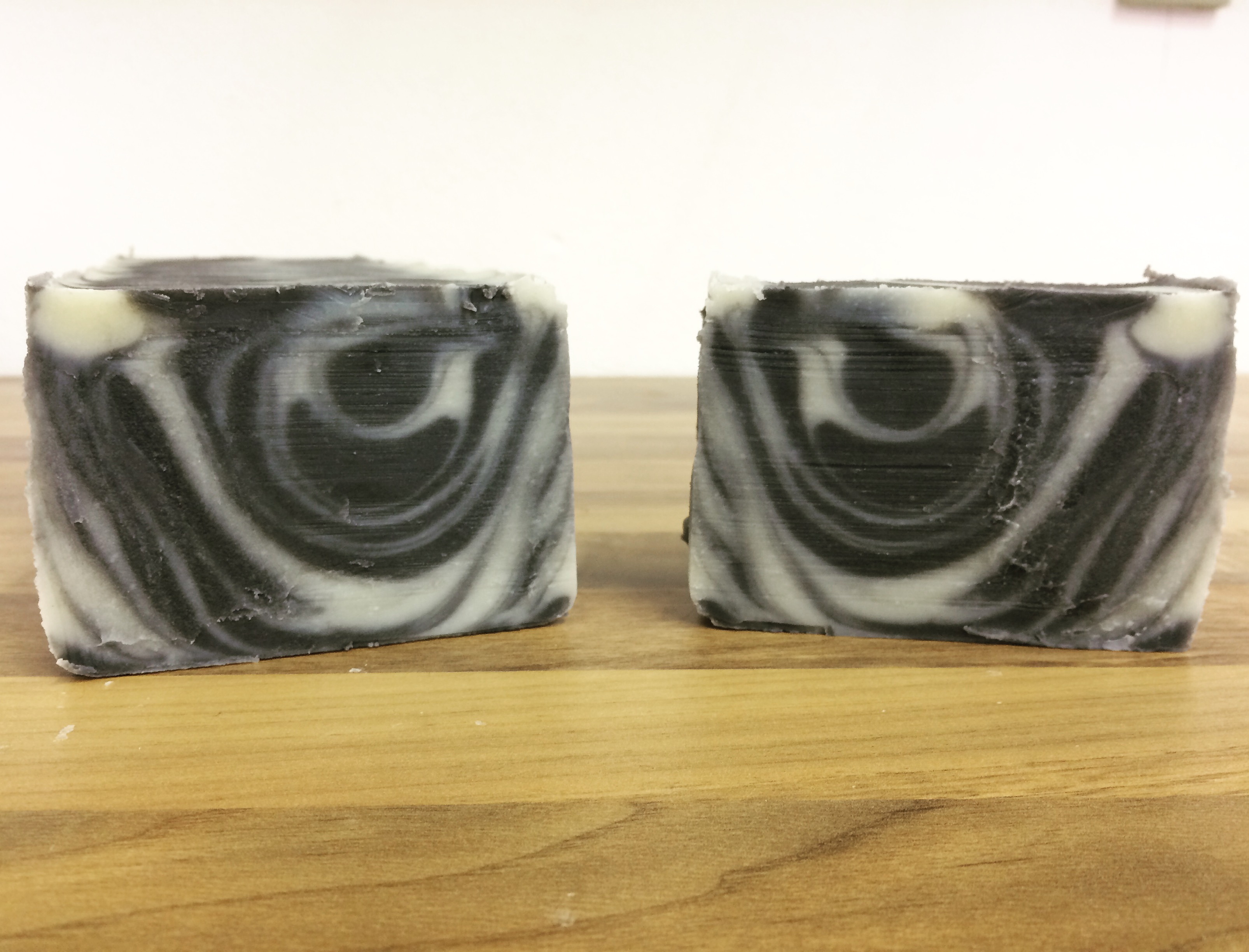 lavender tea tree tiger stripe soap