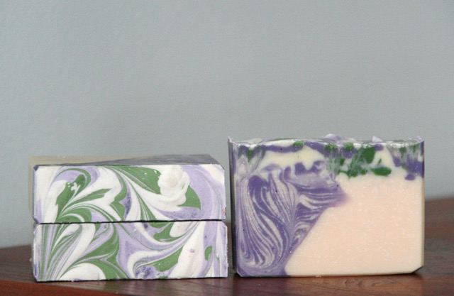 the lavender soap