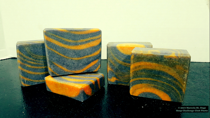 tiger granite pumice column pour soap