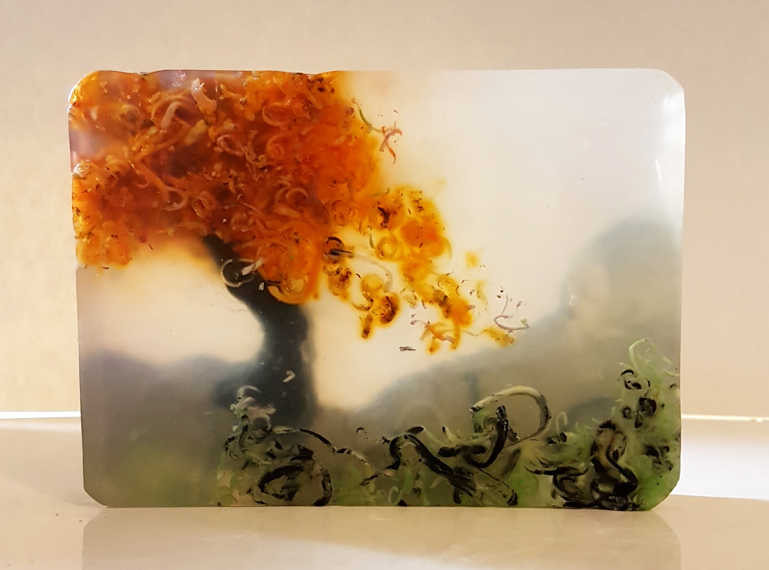 tree landscape soap