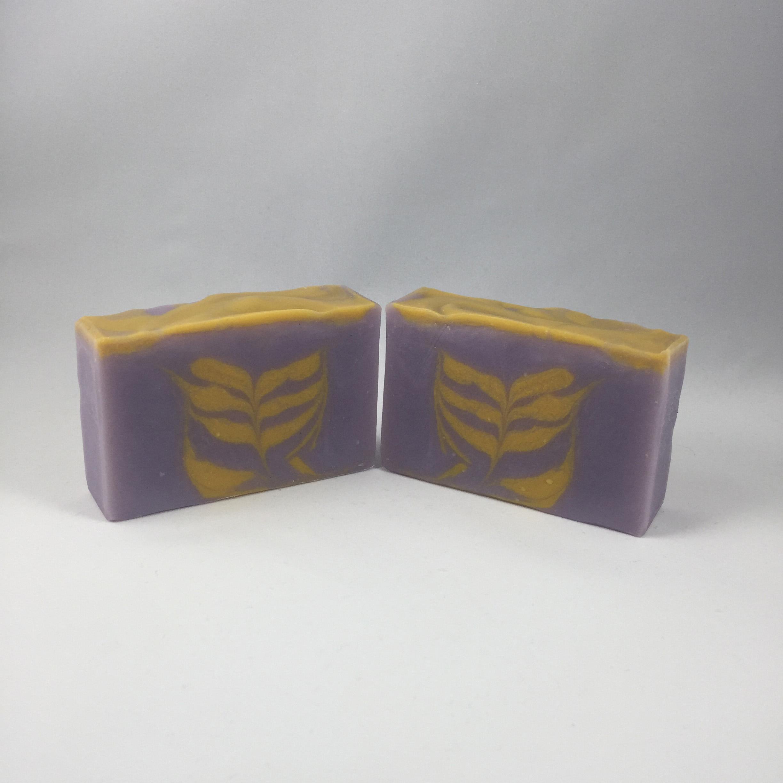bergamot violet secret swirl