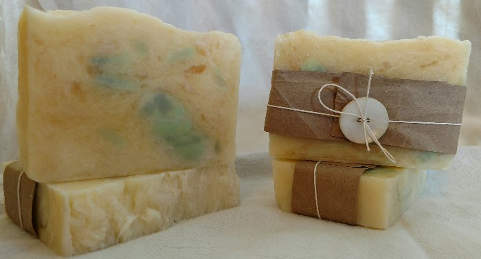 citrus ice soap