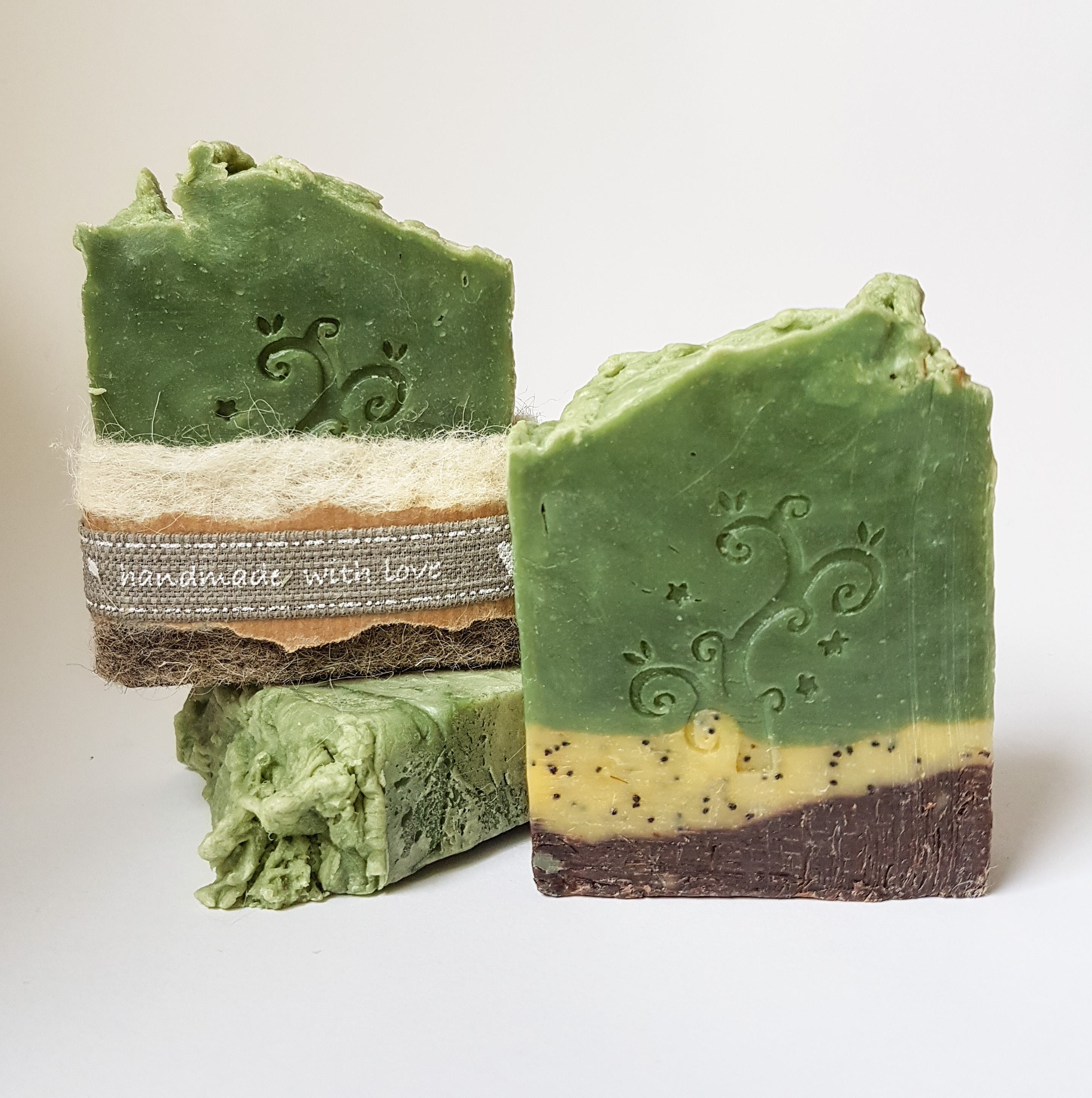 sheep in the meadow rustic soap