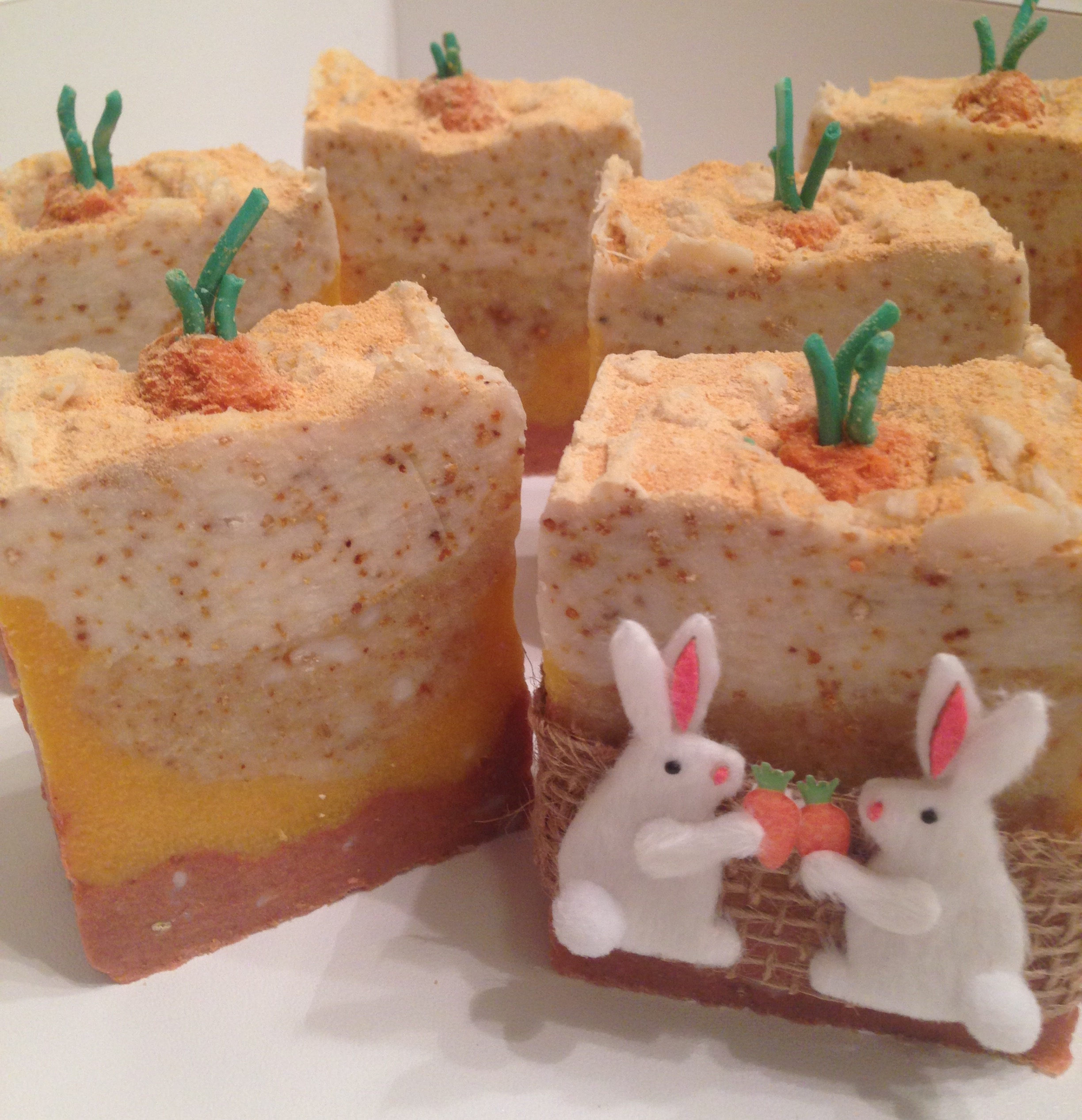 country garden carrot soap
