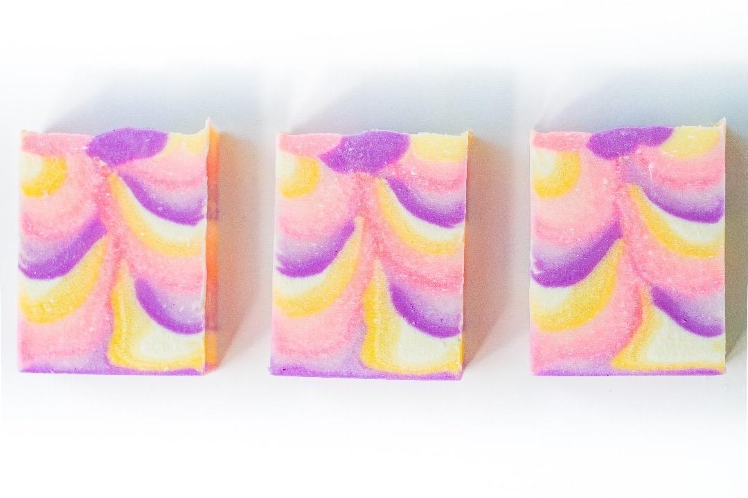 ombre soap