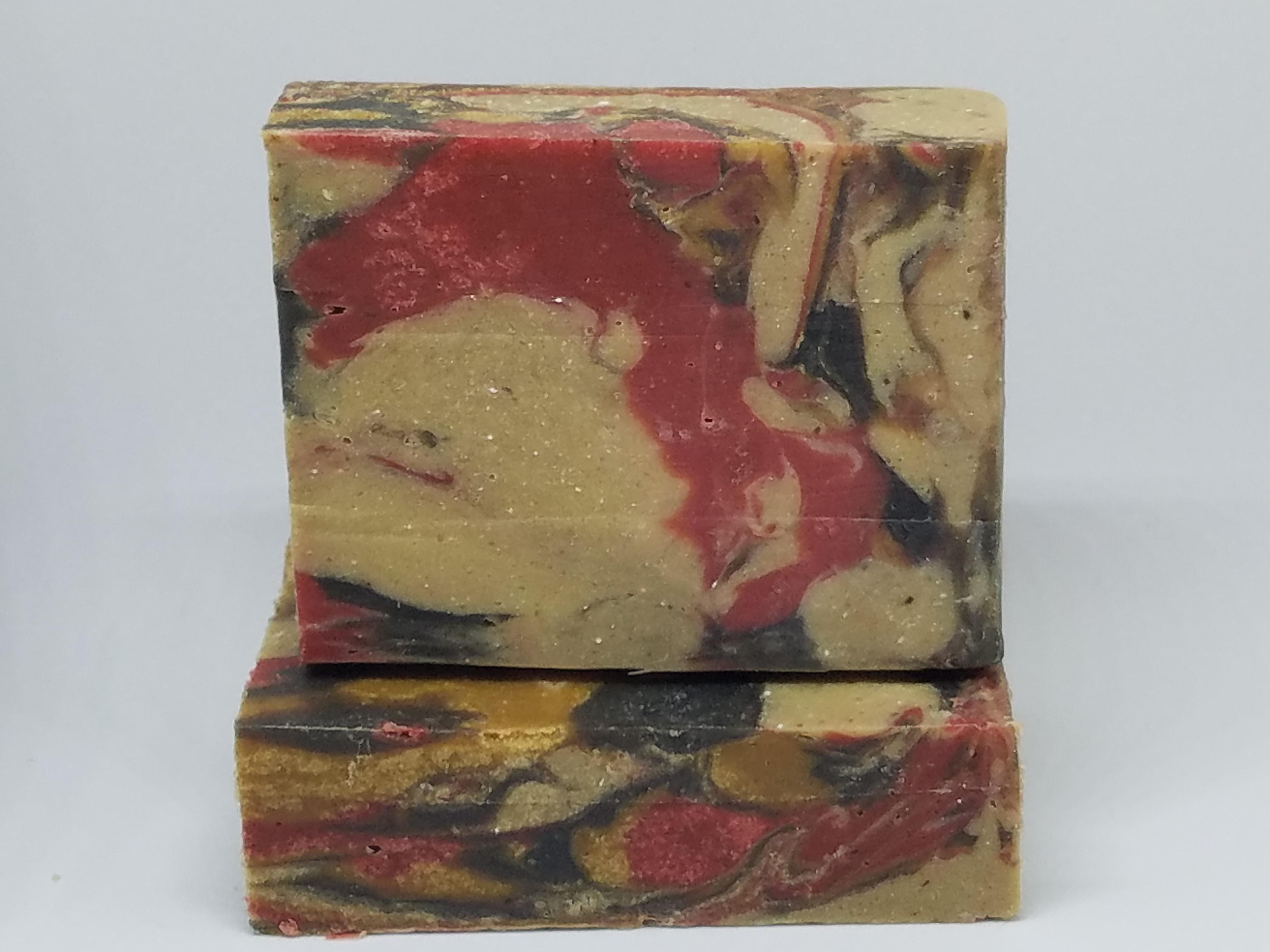 cherry almond fluid pour soap