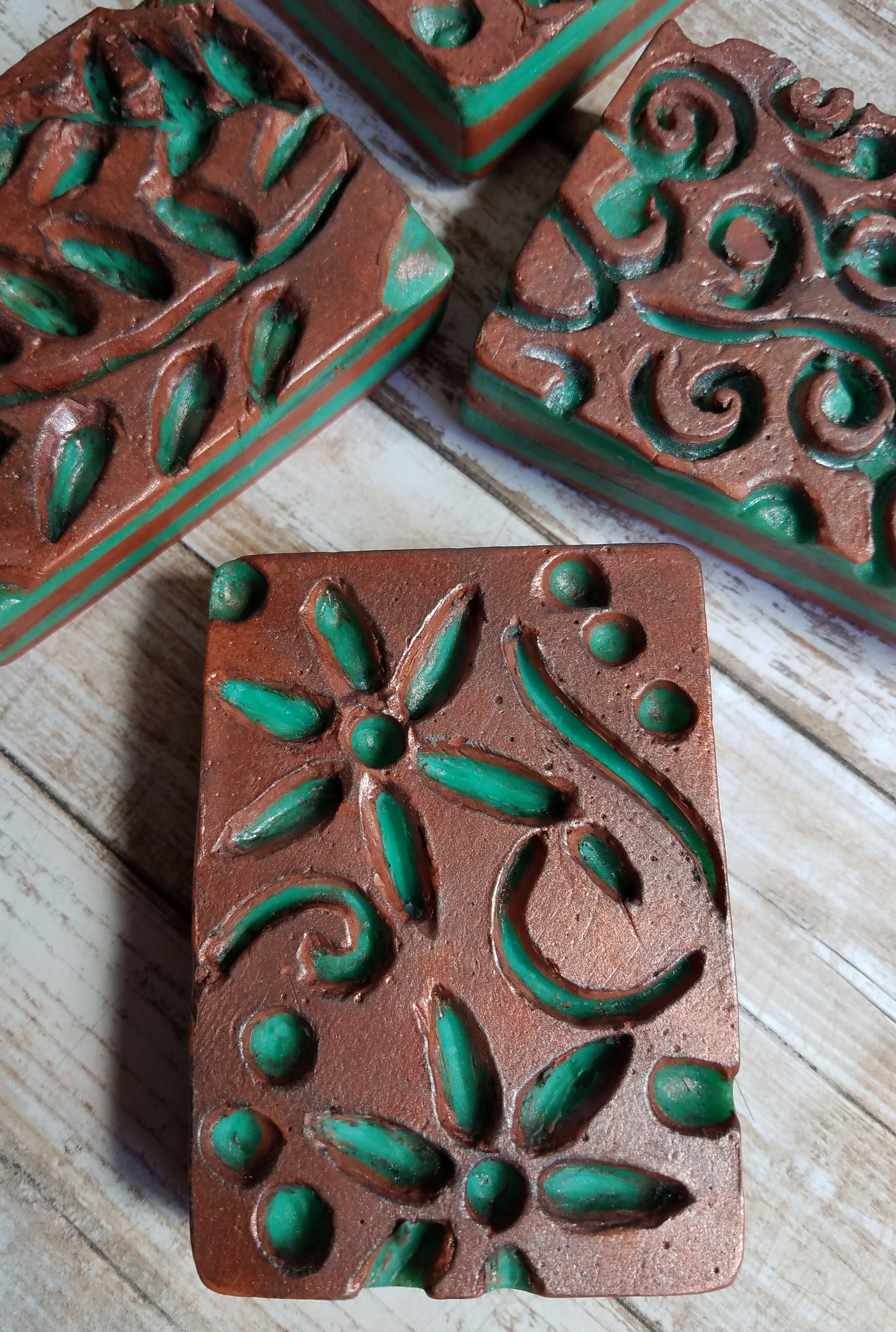 copper carvings
