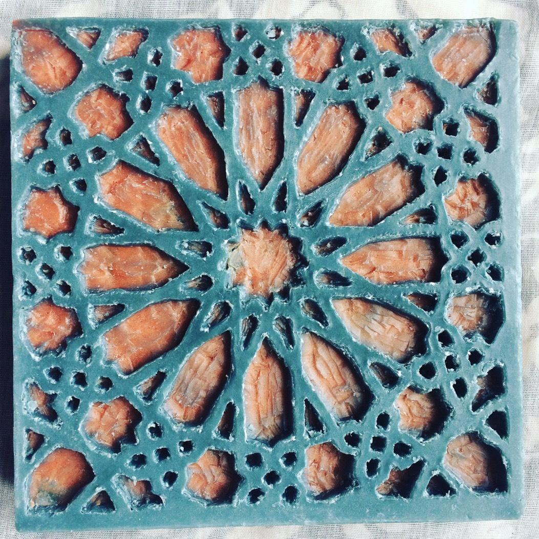 intaglio mosaic
