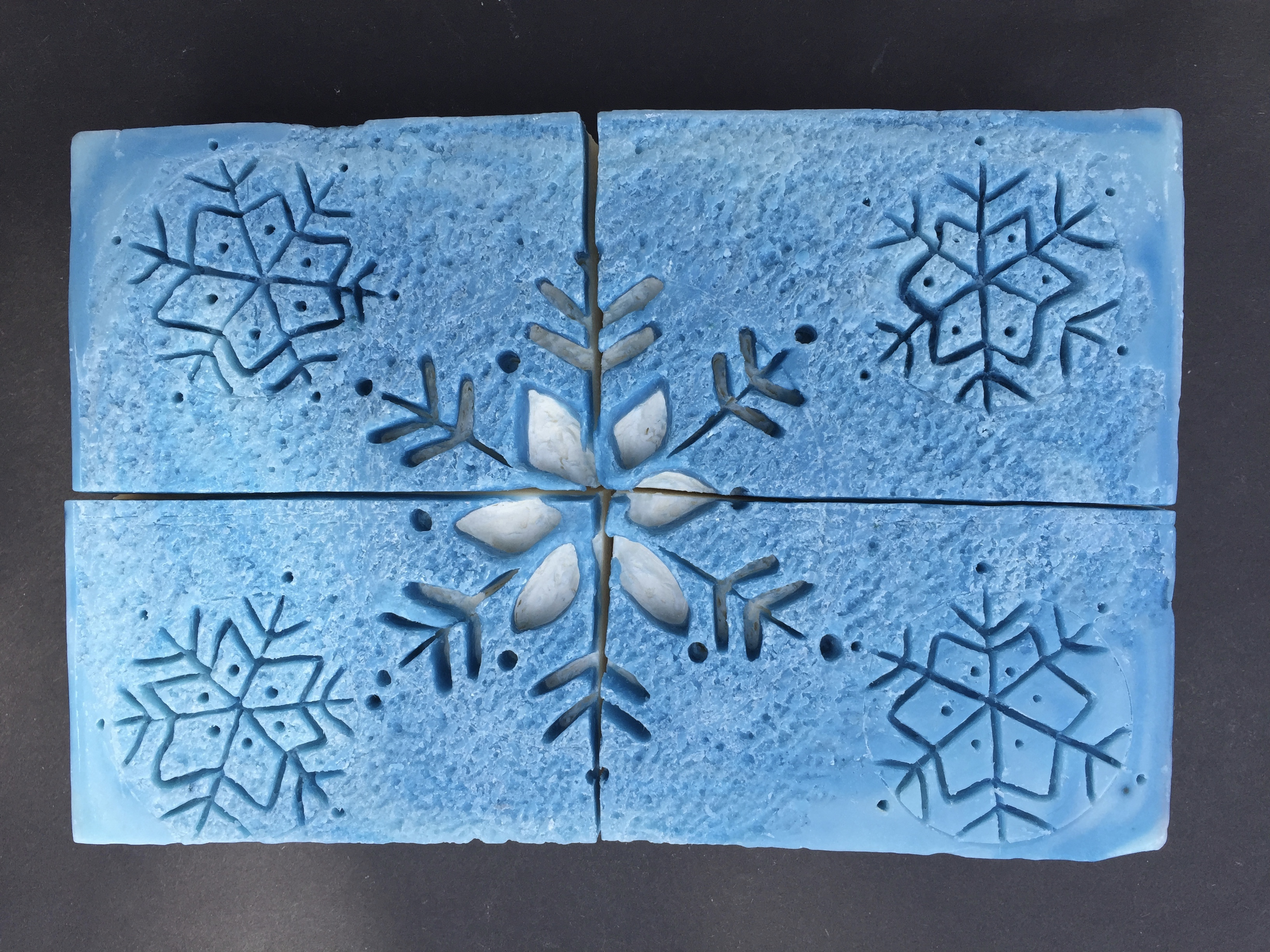 intaglio snowflake