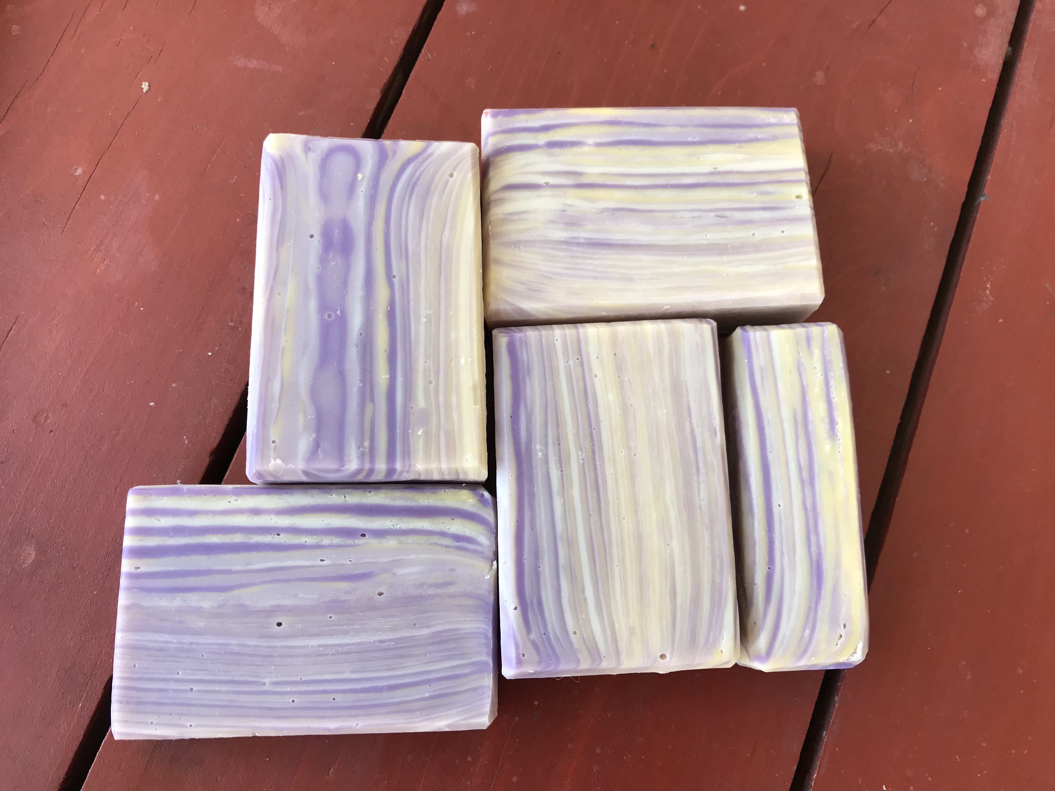 zebra lemon lavender
