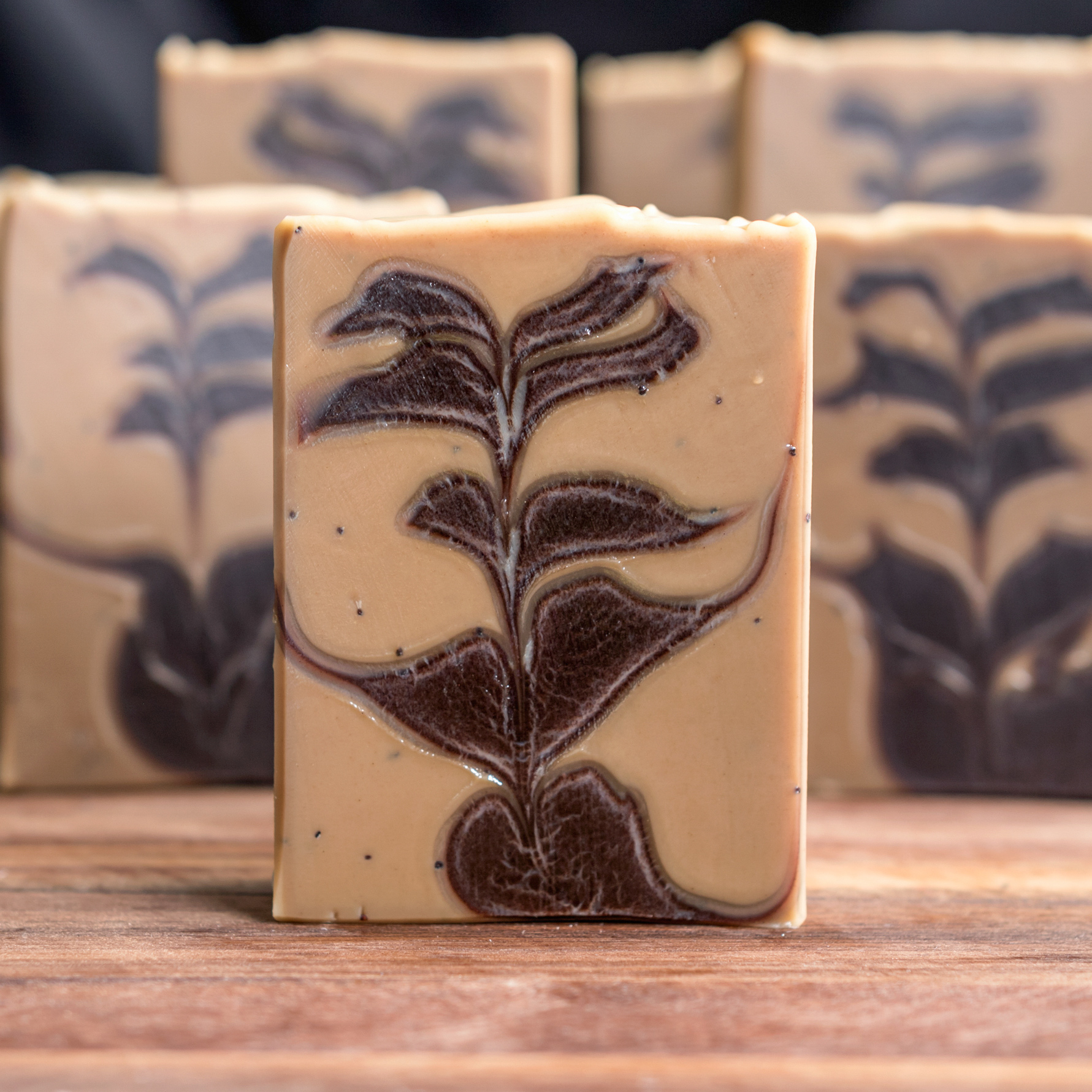 coffee cocoa soap