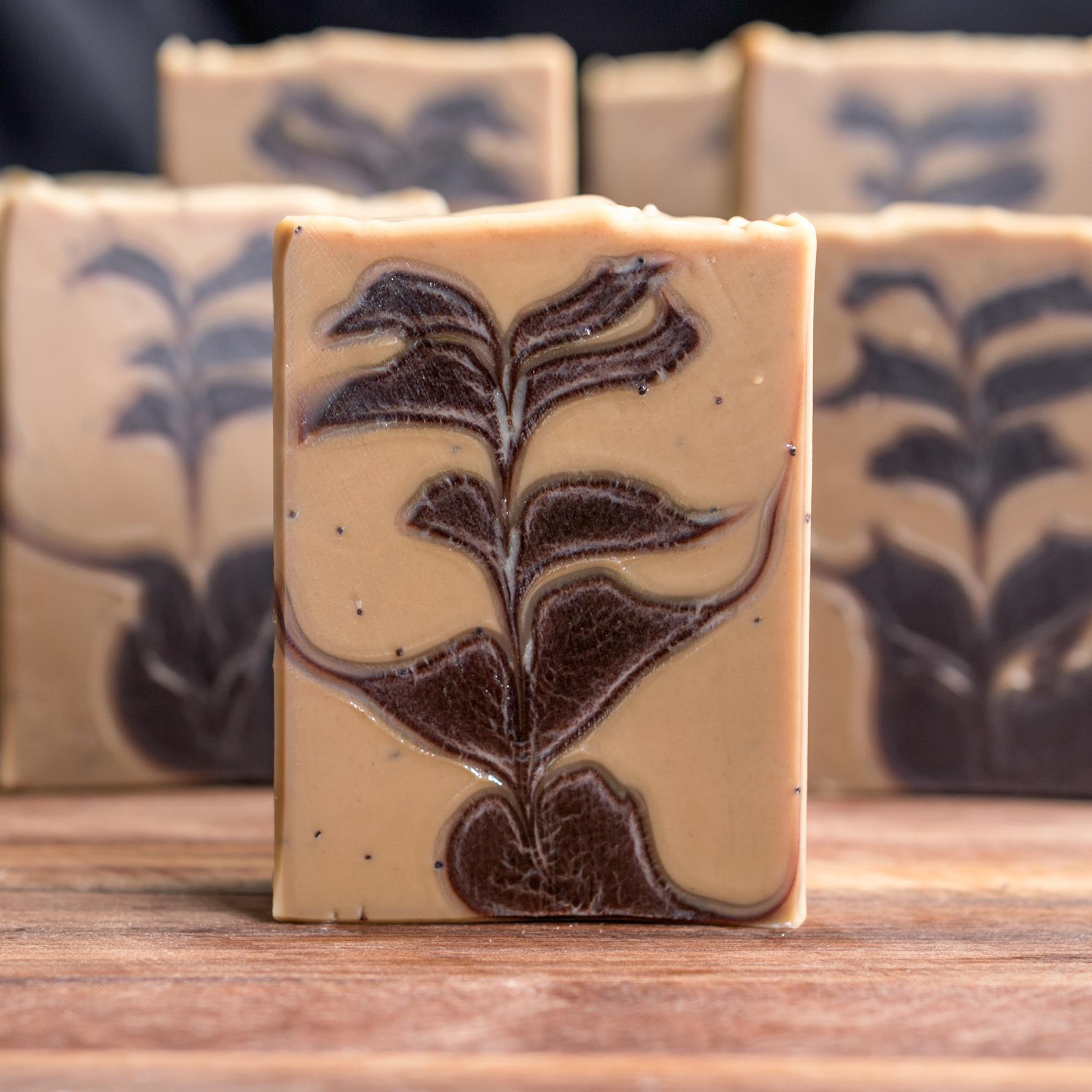 coffee cocoa soap