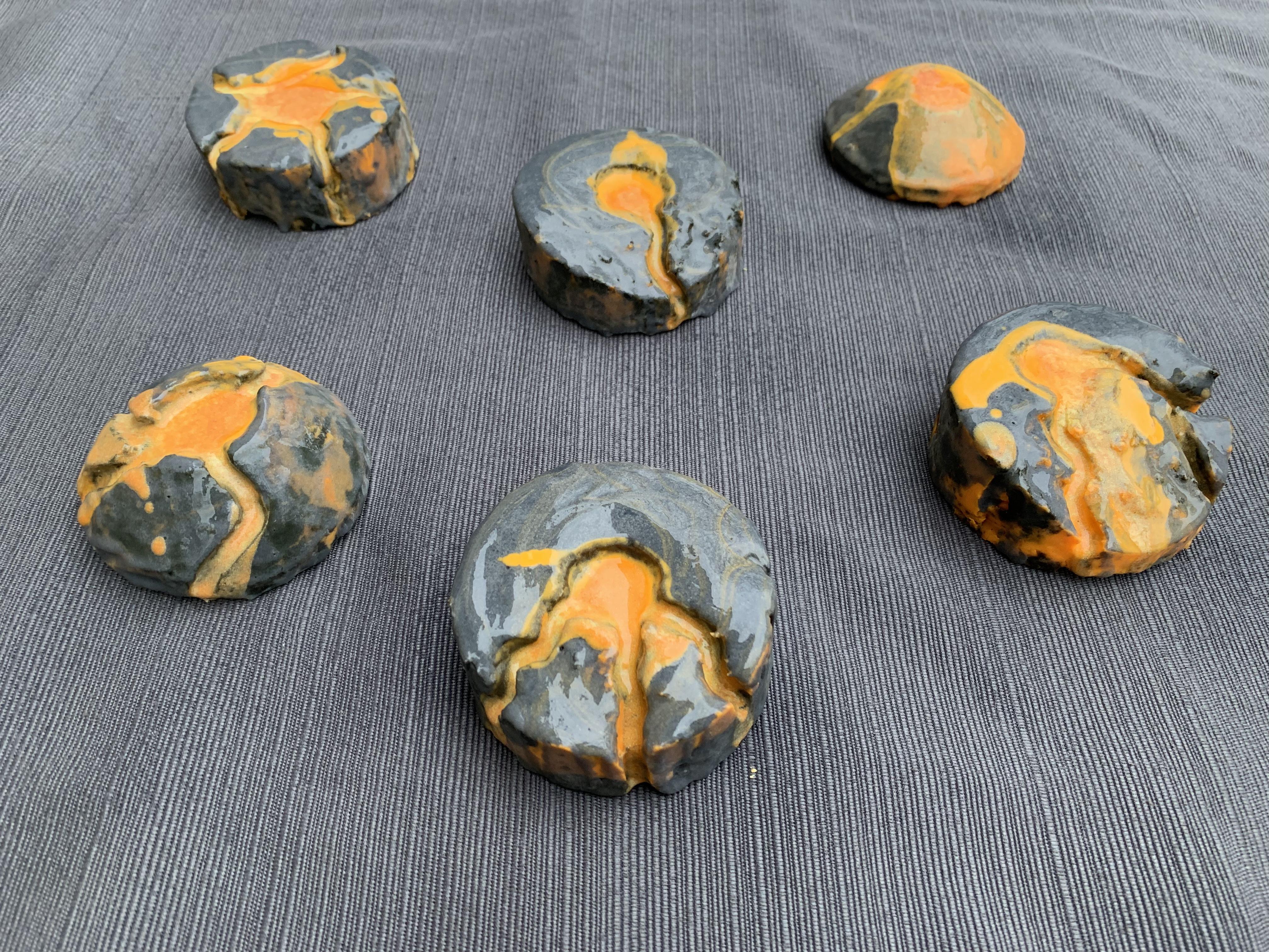 dragon volcano soap