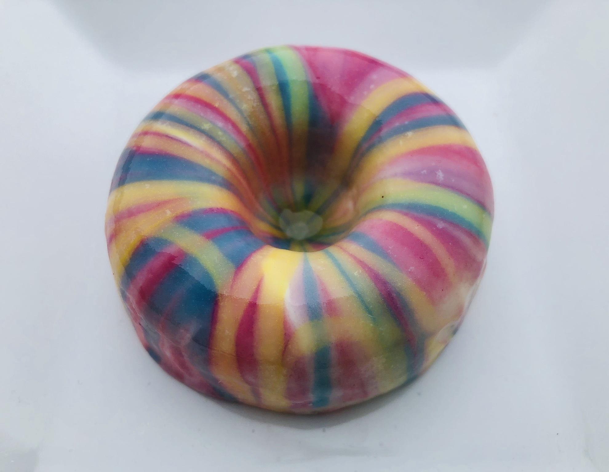watercolor donuts