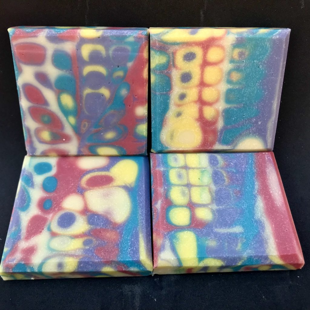 psychedelic soap
