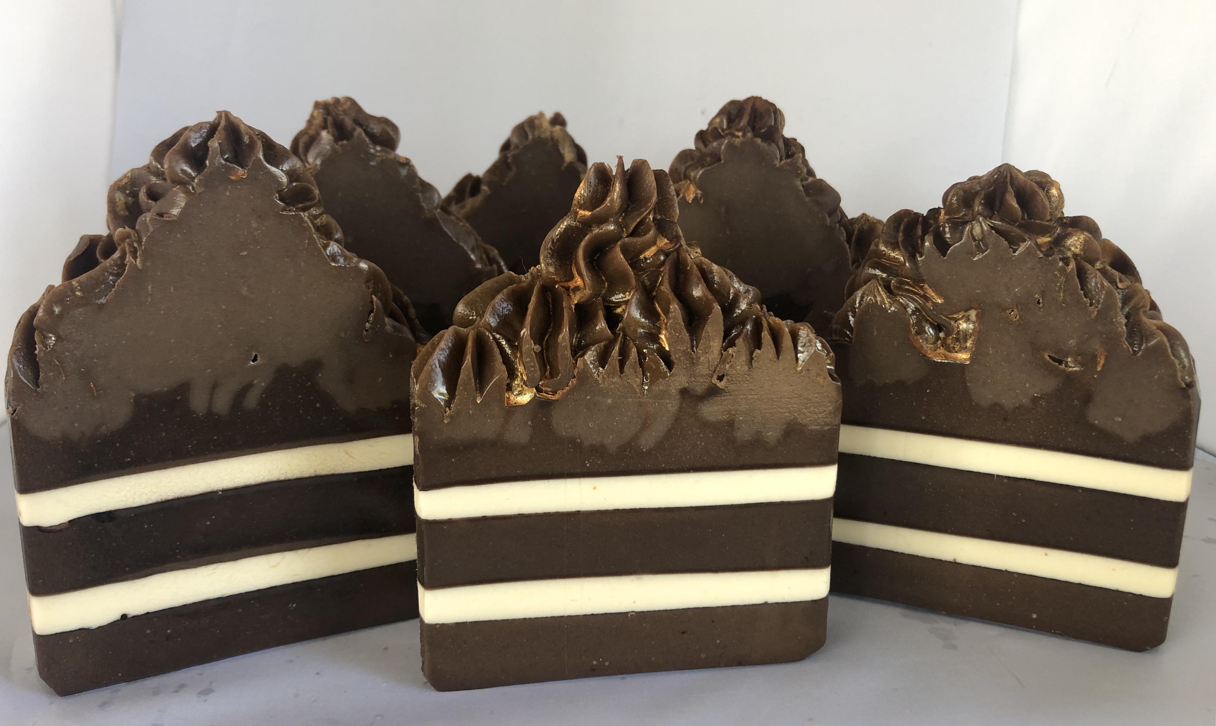 chocolate strawberry bourbon layer cake