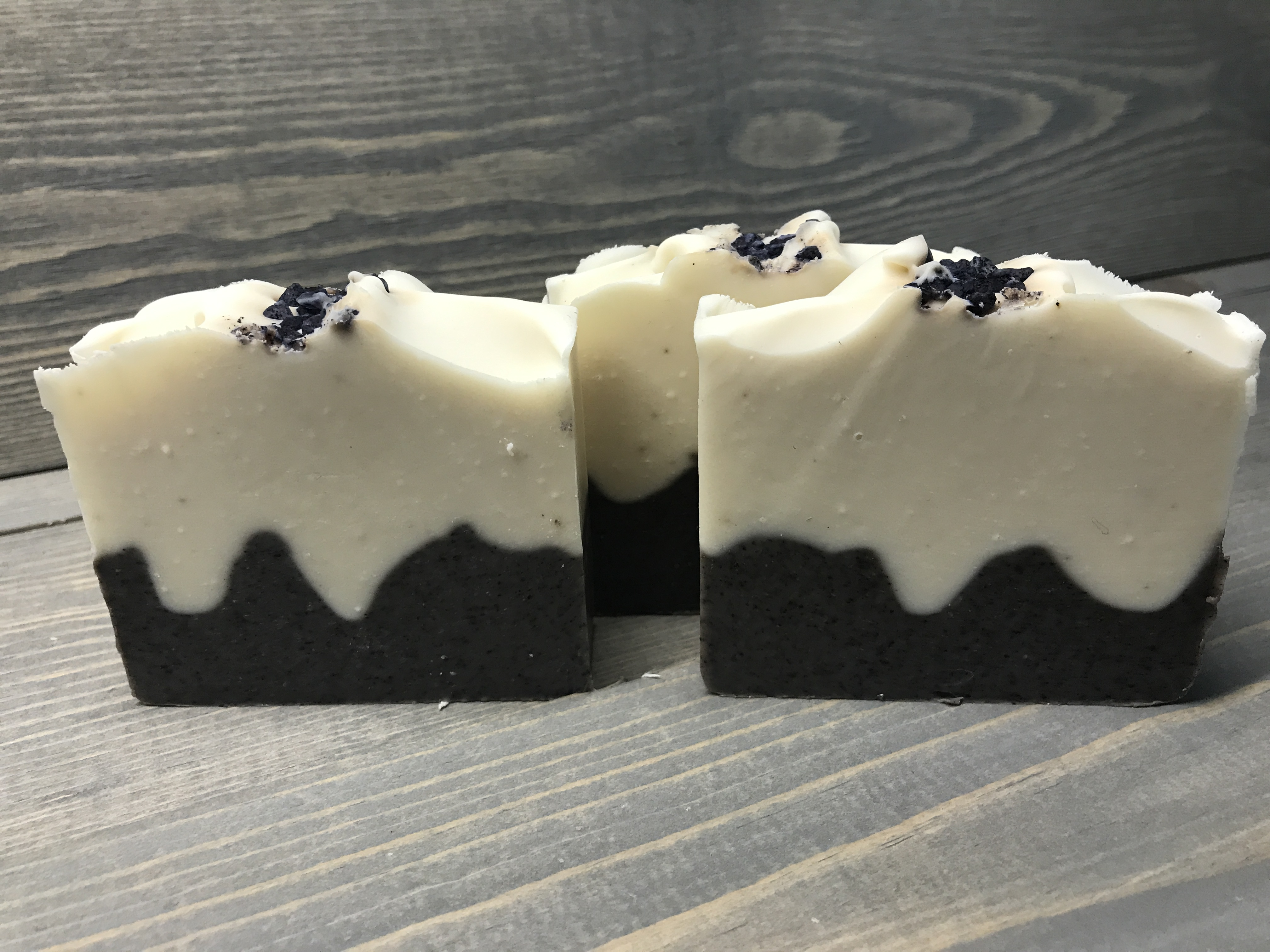 pear blueberry soap
