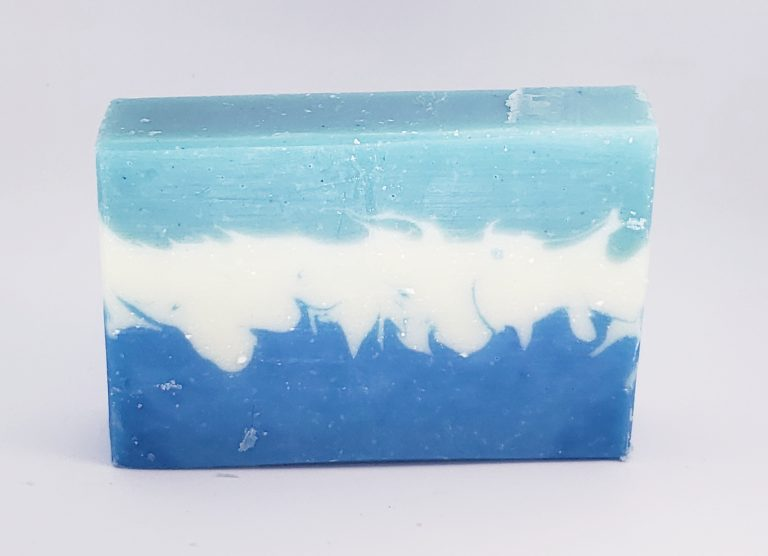 eucalyptus tea tree pointy layered soap