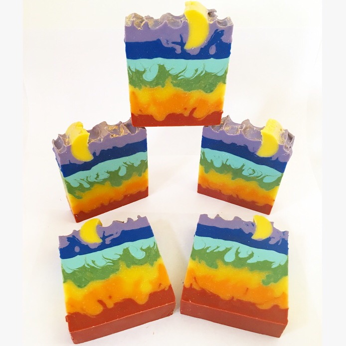 crazy chakras soap