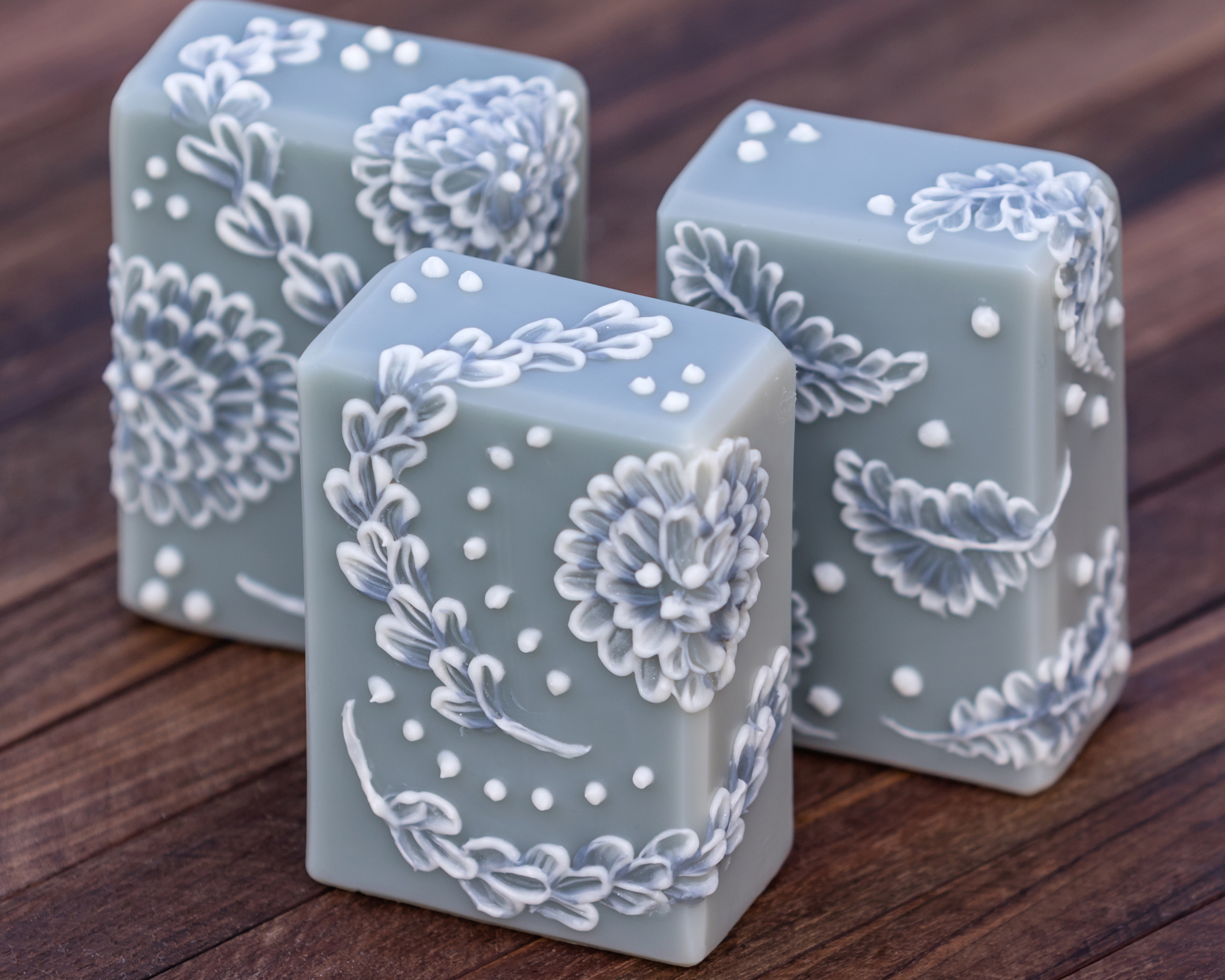 brush embroidery soap