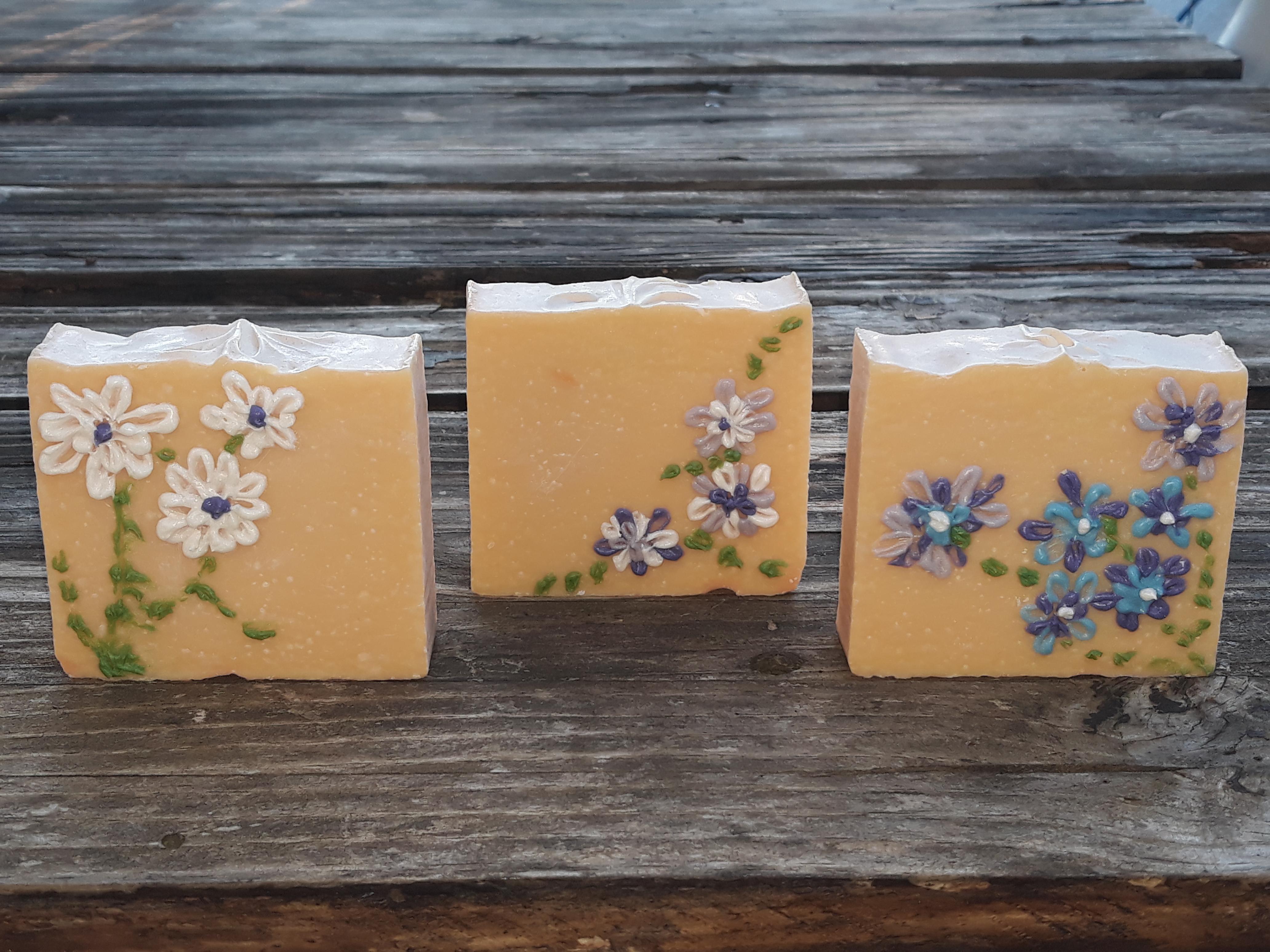 jabon floral de primavera