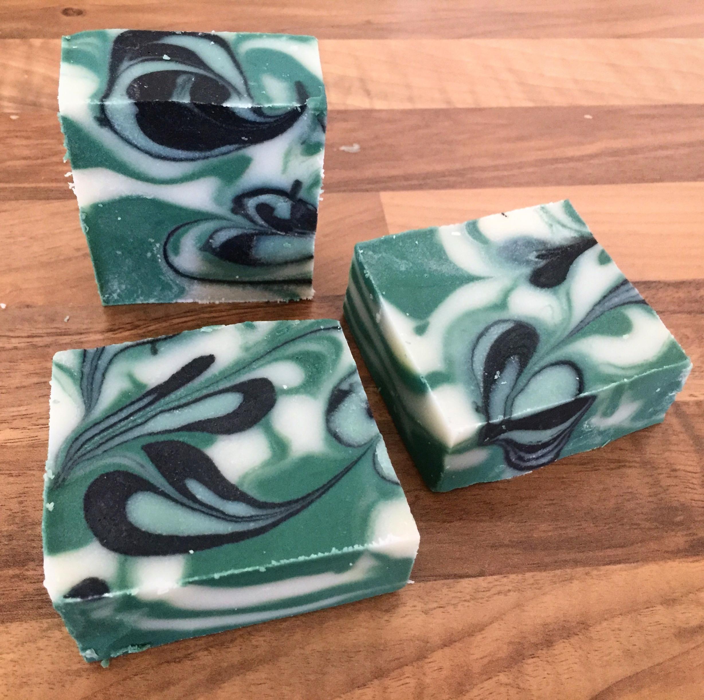 lavender cedarwood swirls