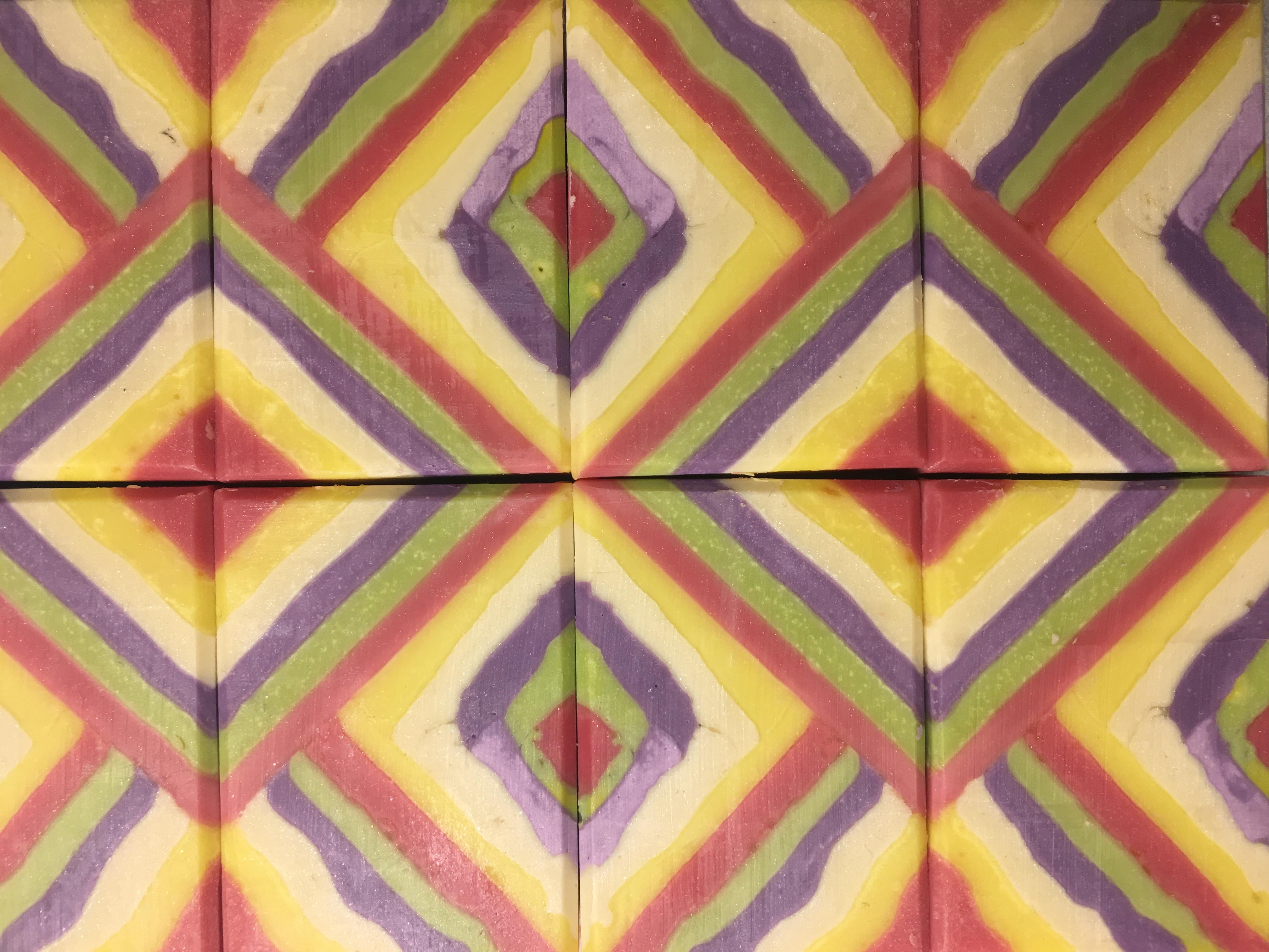 21 layers in chevron design