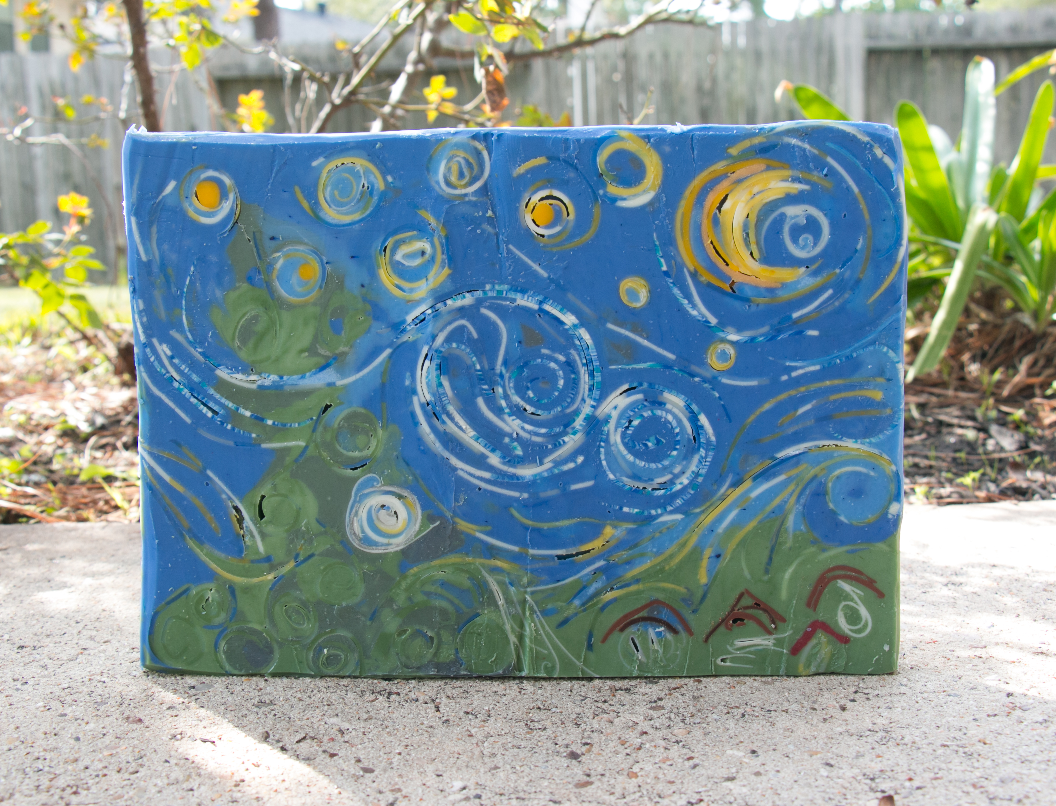 inspired in the starry night