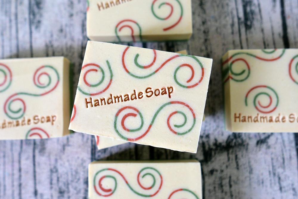 x mas curl soap